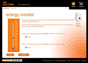 AlertMe Energy Web Interface