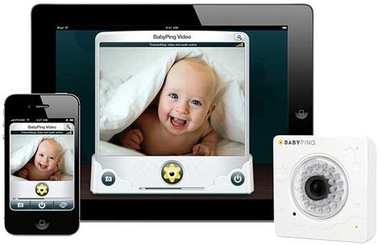 Baby Ping Y-Cam Wireless IP CCTV Monitor