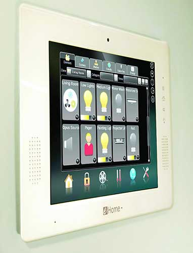 e-Home Automation - Touchscreen