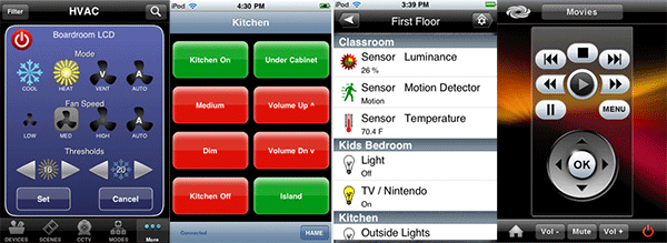 Smart Home iPhone Apps