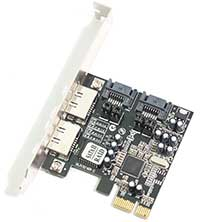 LinITX PCI Express SATA Card