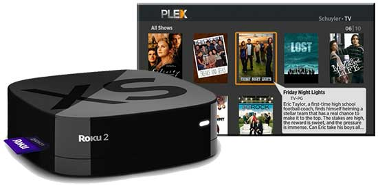 Roku in the UK with Plex Client