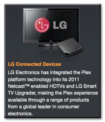 Plex Quote on the LG ST600 TVUpgrader
