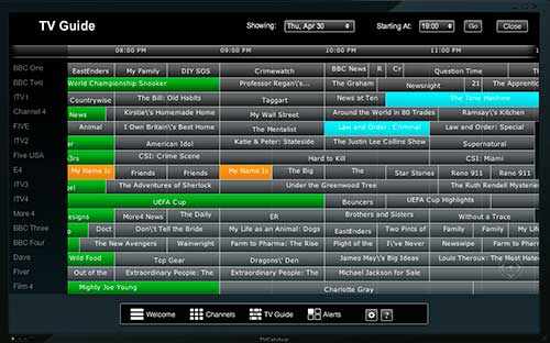 TVCatchup Desktop Player