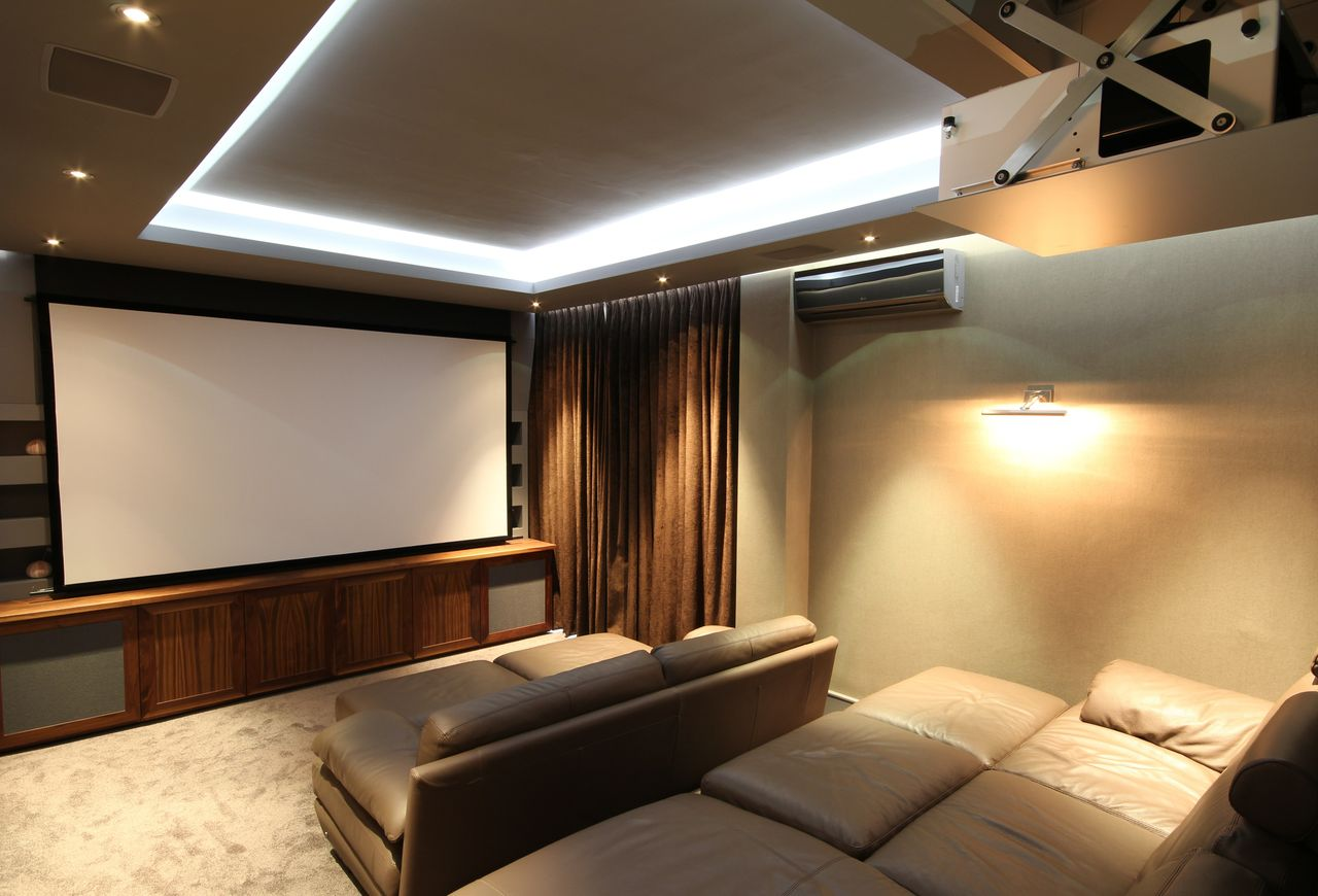 home automation case study control4 home cinema automated home. Black Bedroom Furniture Sets. Home Design Ideas