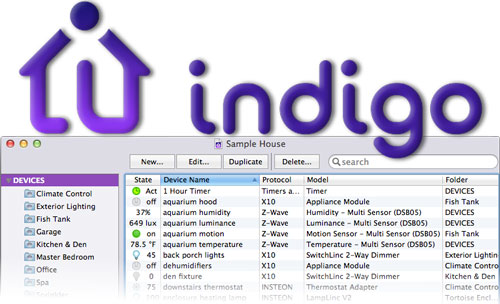 indigo Review - Home Automation on the Apple Mac
