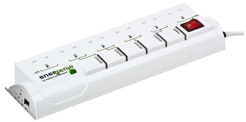 Energenie LAN Power Management System - 4 IP Controlled Main Sockets