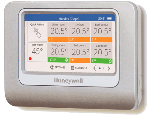 Honeywell evohome Touchscreen