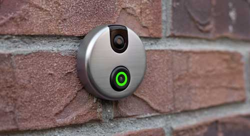 SkyBell Mounted on Wall