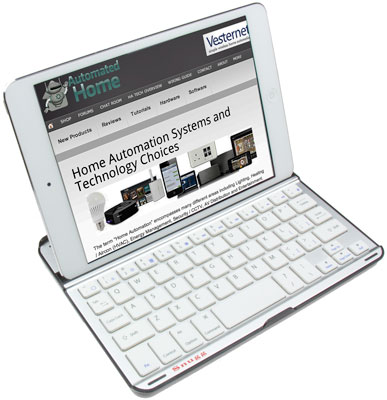Snugg iPad mini Bluetooth Keyboard / Case - Front