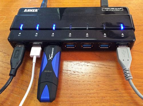 Anker USB 3.0 7 Port Hub