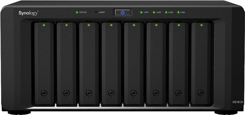 Synology 1813+ NAS (Front)