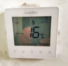 Heatmier Neo Review - Thermostat
