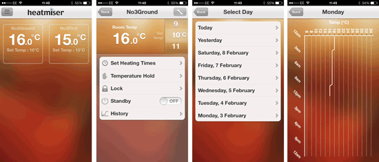 Heatmier Neo Review - App