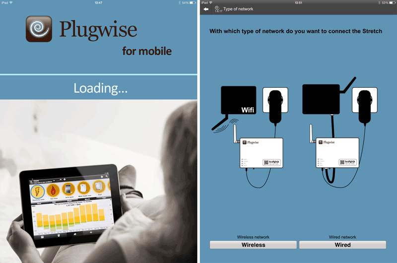 Plugwise Home Stretch 2.0 iPad Setup