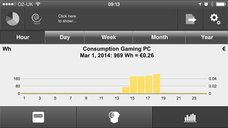 Plugwise Home Stretch 2.0 Gaming PC Power Consumption