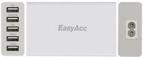 EasyAcc 5 25W Port USB Charger