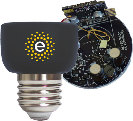 emberlight smart light bulb holder