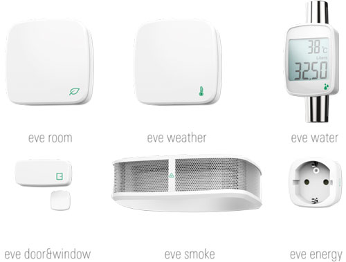 Elgato Eve Smart HomeKit Sensors