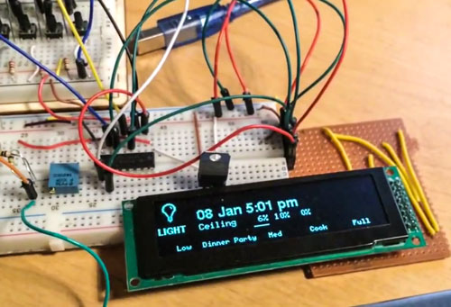 Hack Diy Arduino Smart Home Control Panel Uses Openhab