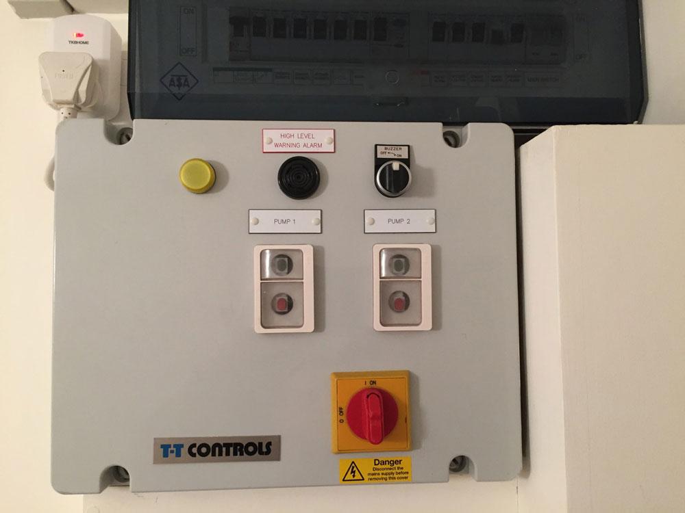 TT Pump Panel
