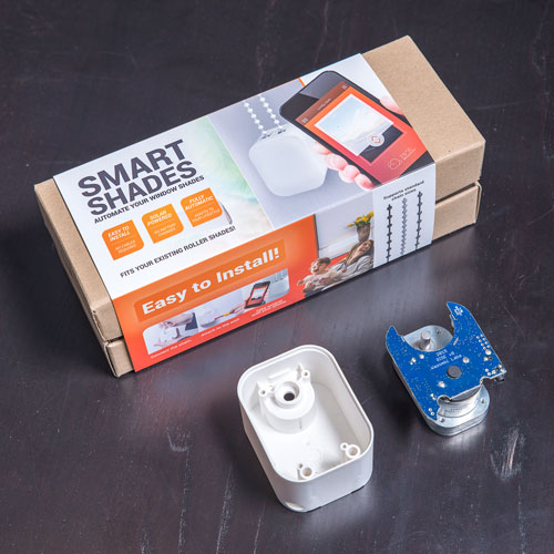 Smart Shades Solar Powered Bluetooth Blind Motor ...
