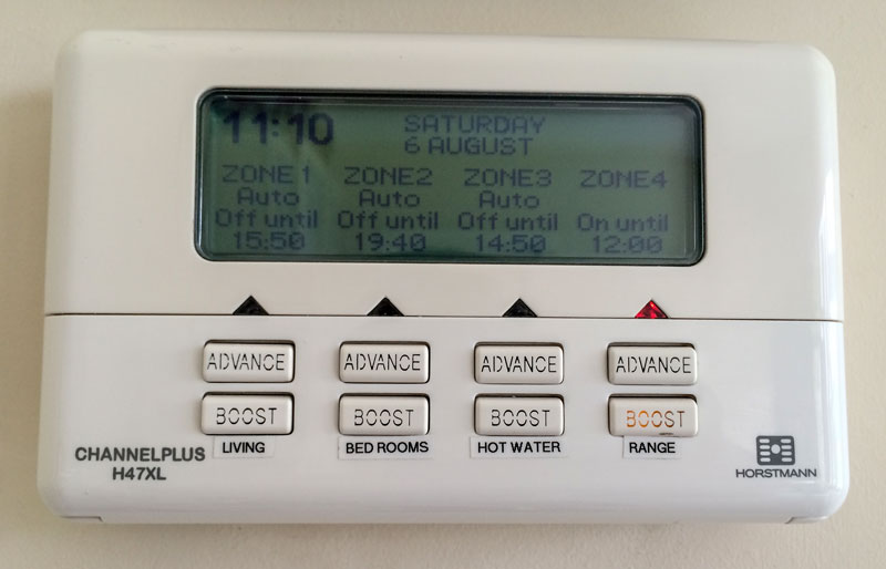 4 Zone HEating Controller