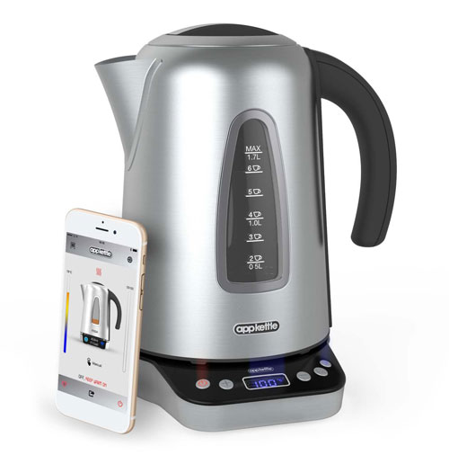 Review: Appkettle – The World's Smartest Kettle Connects to the Cloud via Wi-Fi