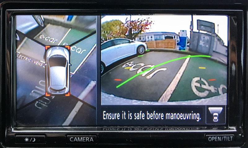 Nissan Leaf 360 Degree Camera
