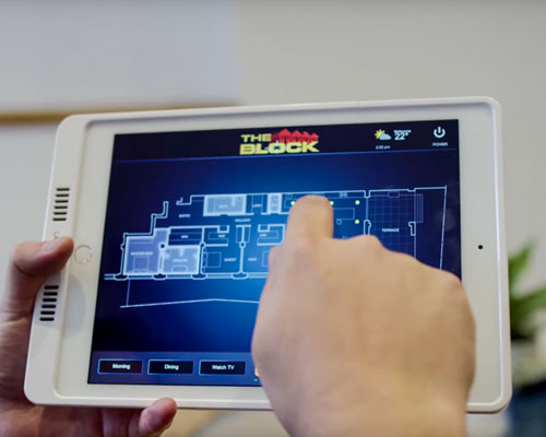 The Block - iPad Controlled Smart Home