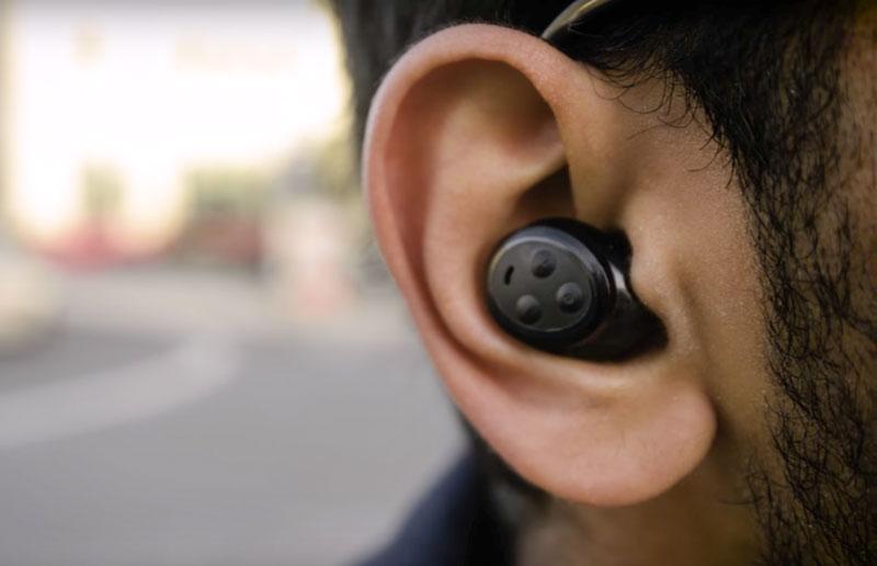 Bragi 'The Headphone' in Ear