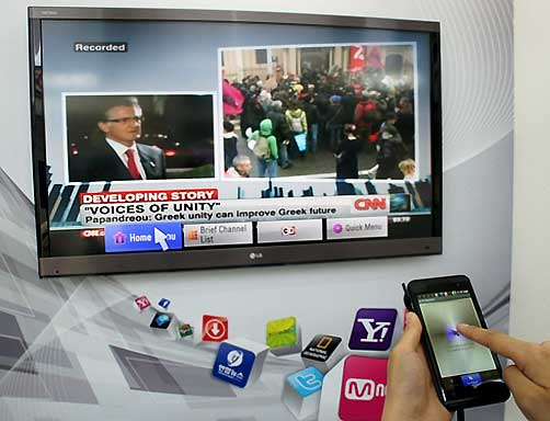 Free App Turns Smartphone into Smart TV Remote – Automated Home