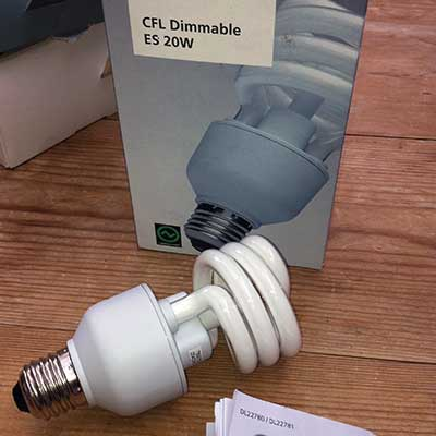 LightwaveRF Dimmable CFL Bulb