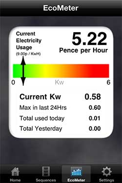 LightwaveRF iOS Eco Meter