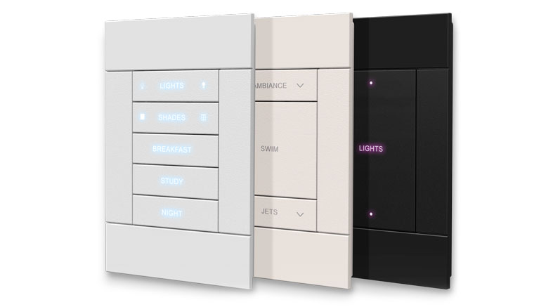 Crestron Wireless Horizon EX Dimmers and Keypads